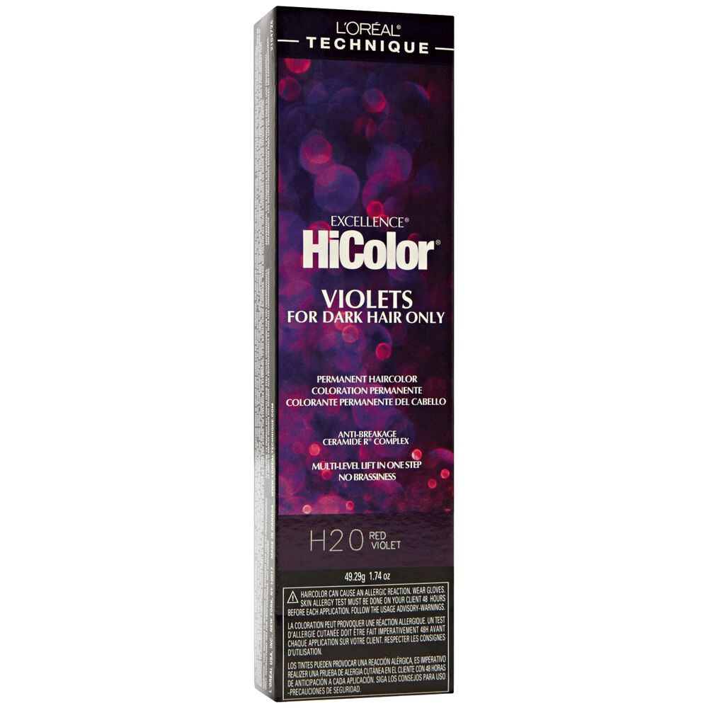 H20 Red Violet Permanent Hair Color