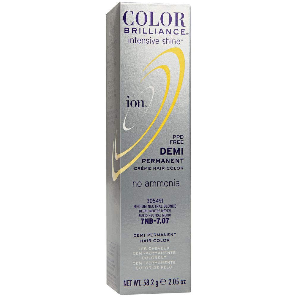 Medium Neutral Blonde Ion Color Brilliance Demi Permanent Creme