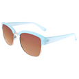 Gold & Blue Sunglasses
