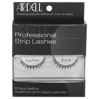Professional Strip Lashes Luckies 6 Pack