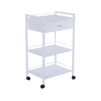 Fai 2 Single Drawer with two Shelf Cart