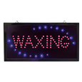 LED Waxing Sign
