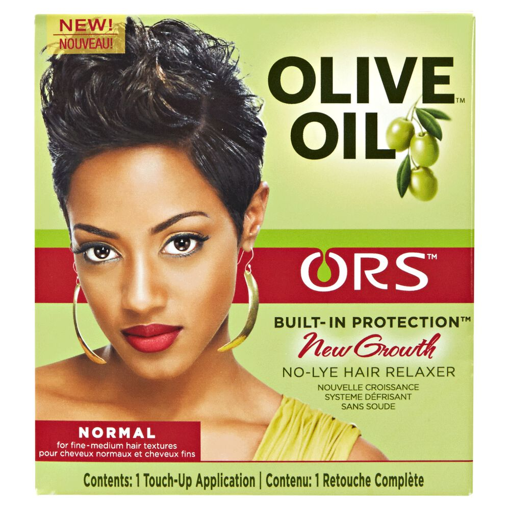 ORS Olive Oil Built-In Protection New Growth No-Lye Hair ...