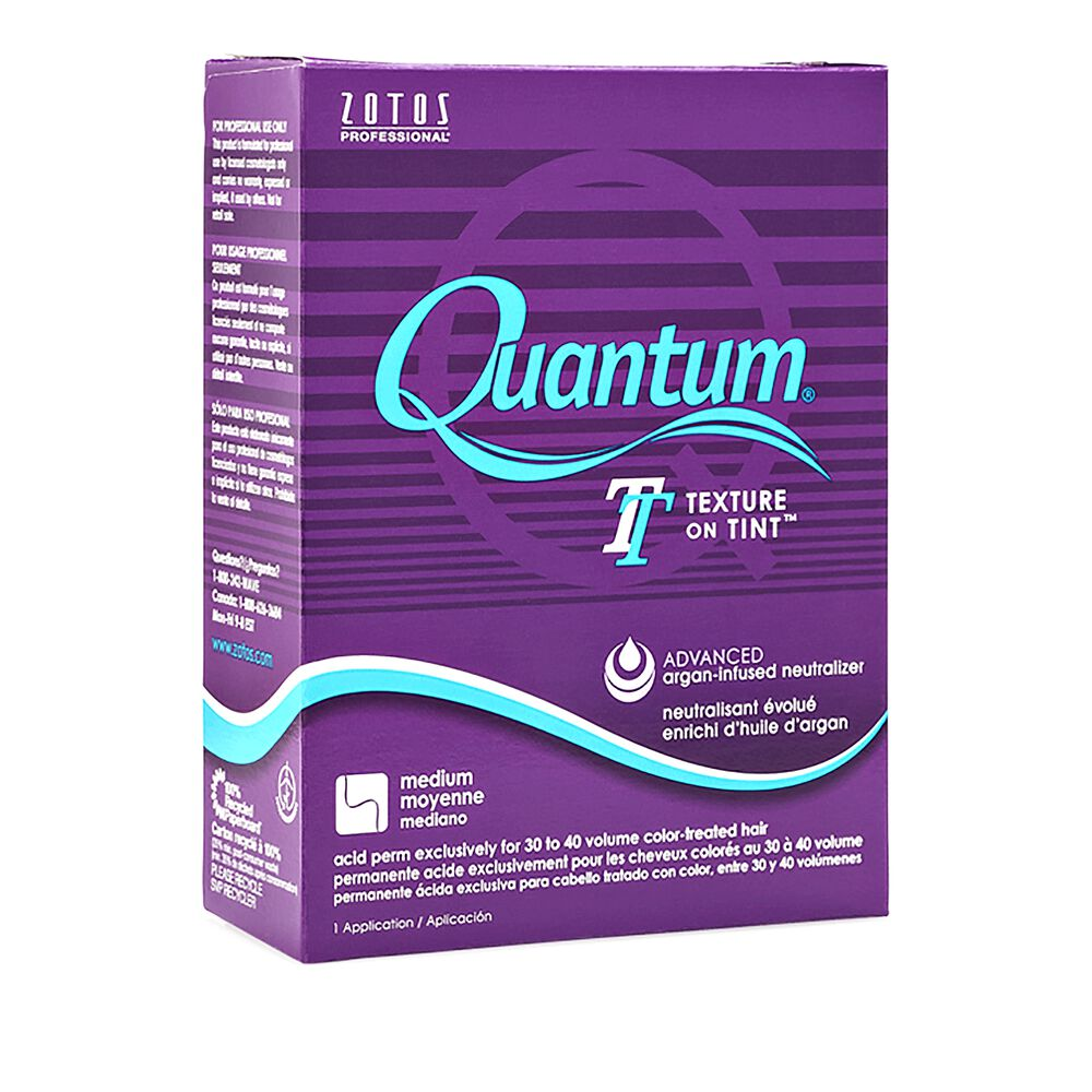 Quantum Texture On Tint Purple Ring Acid Perm