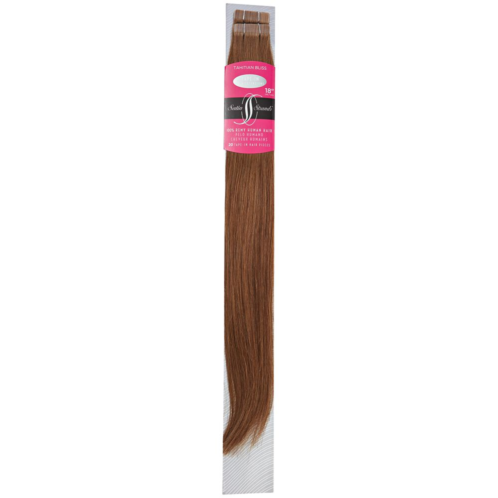 Satin Strands Premium 100 Remy Tape In Human Hair Extensions 18