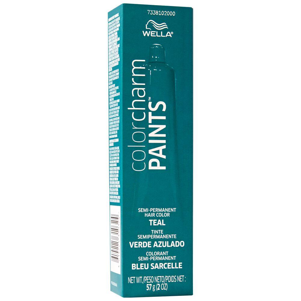 Paints Teal Semi Permanent Hair Color