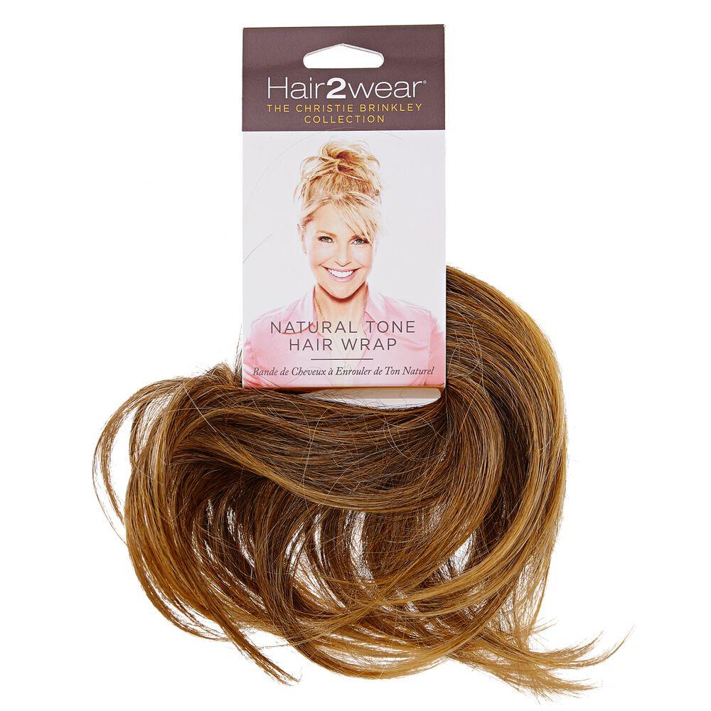 Hair To Wear Christy Brinkley Natural Hair Wrap Light Blonde