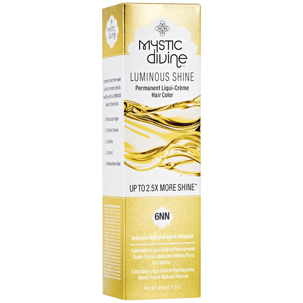Mystic Divine 6nn Intense Natural Dark Blonde Permanent Liqui Creme