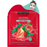 Pore Cleansing Strawberry & Mint Sheet Mask
