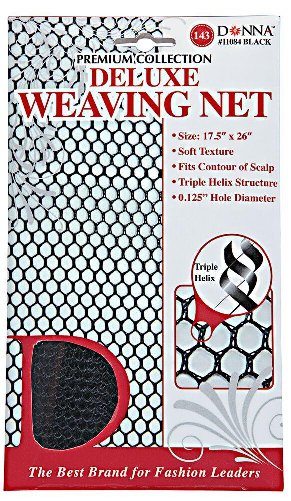 Donna Deluxe Weaving Net Black