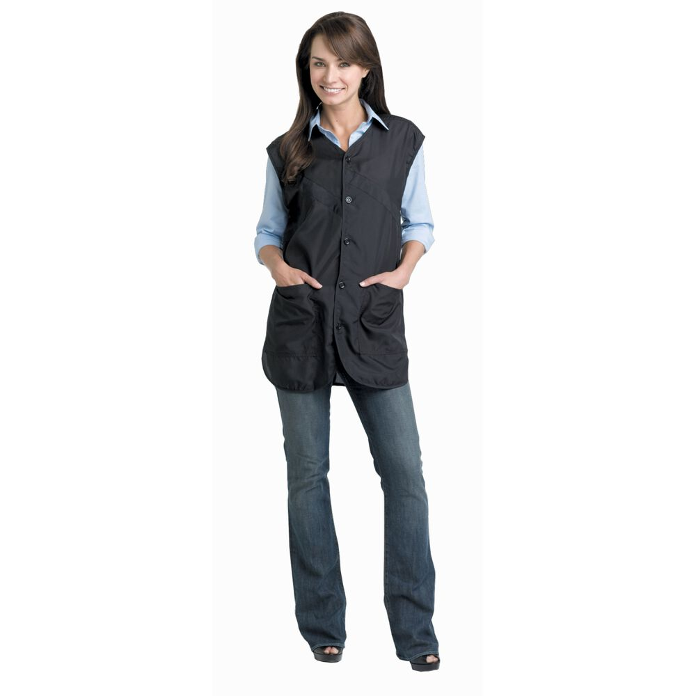 Andre luxurious ultrasilk stylist vest for Spa employee uniform
