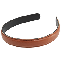 Brown Pleather Headband