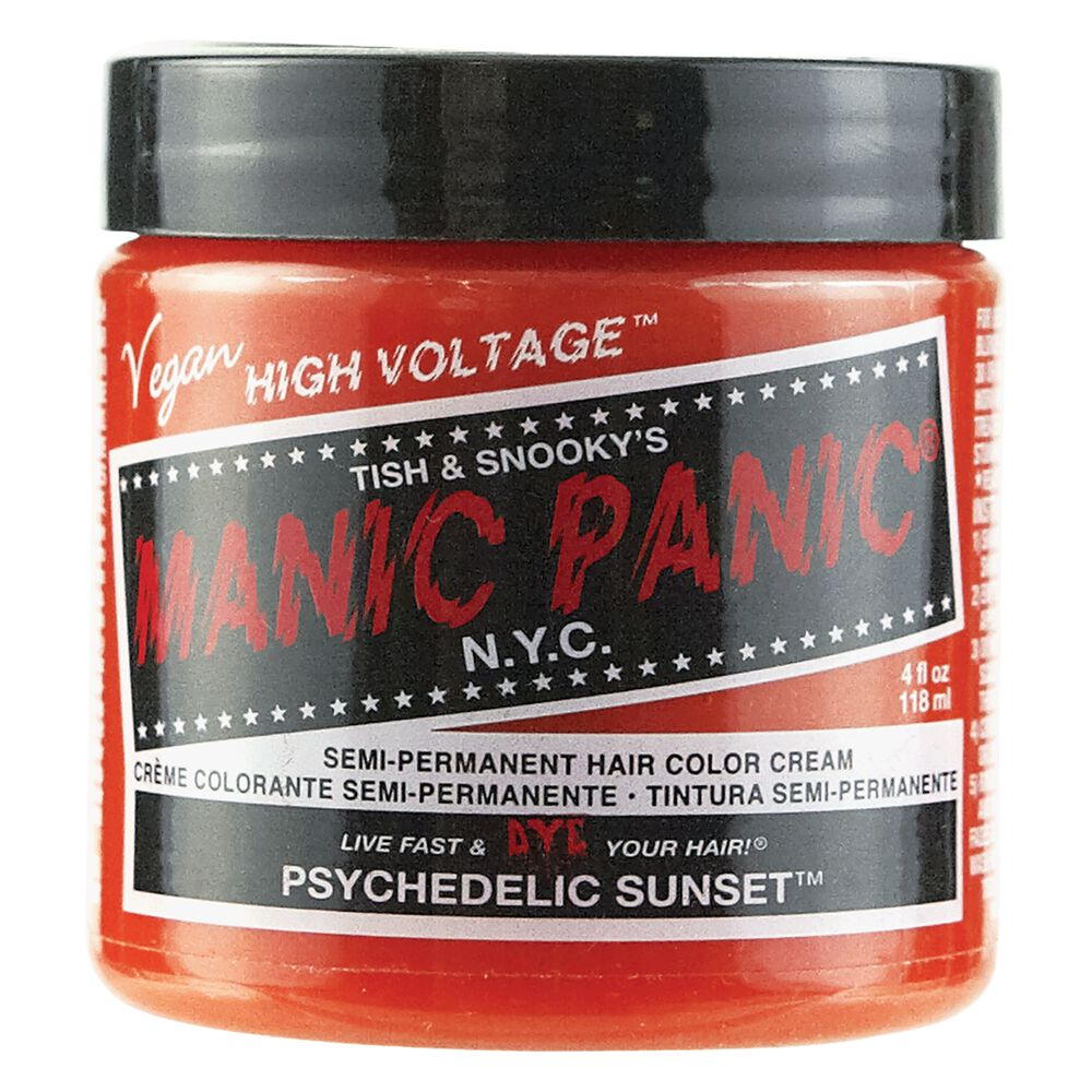 Psychedelic Sunset Manic Panic Semi Permanent Hair Color Sally