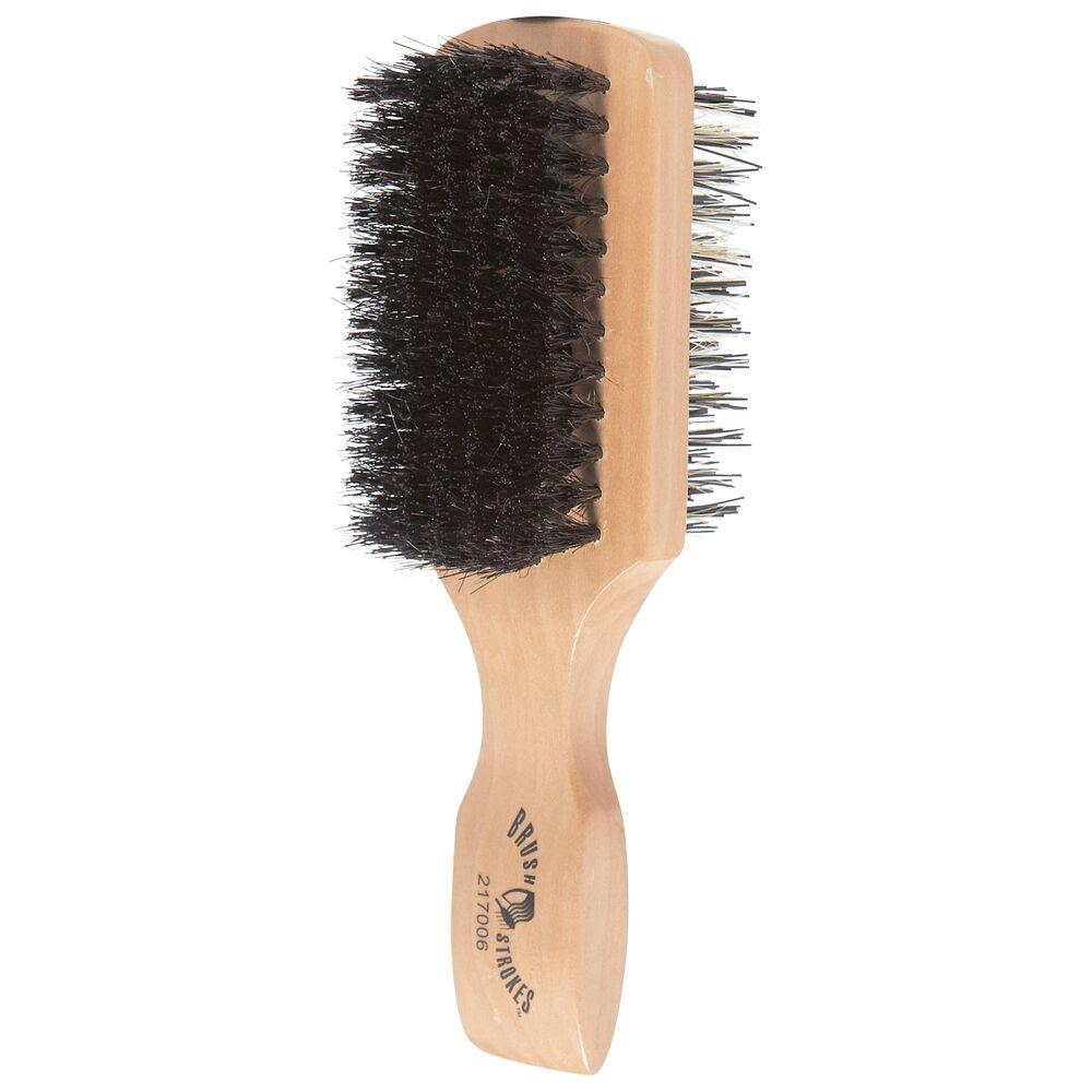 Brush Strokes Two Sided Boar Bristle Brush
