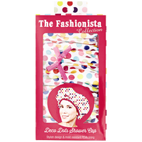 Deco Dots Shower Cap