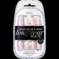 Press On Nails Airbrush Tip & Pink Opal Base