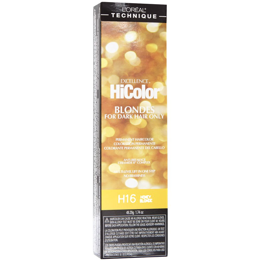 Loreal excellence hicolor permanent hair color honey blonde permanent hair color geenschuldenfo Gallery