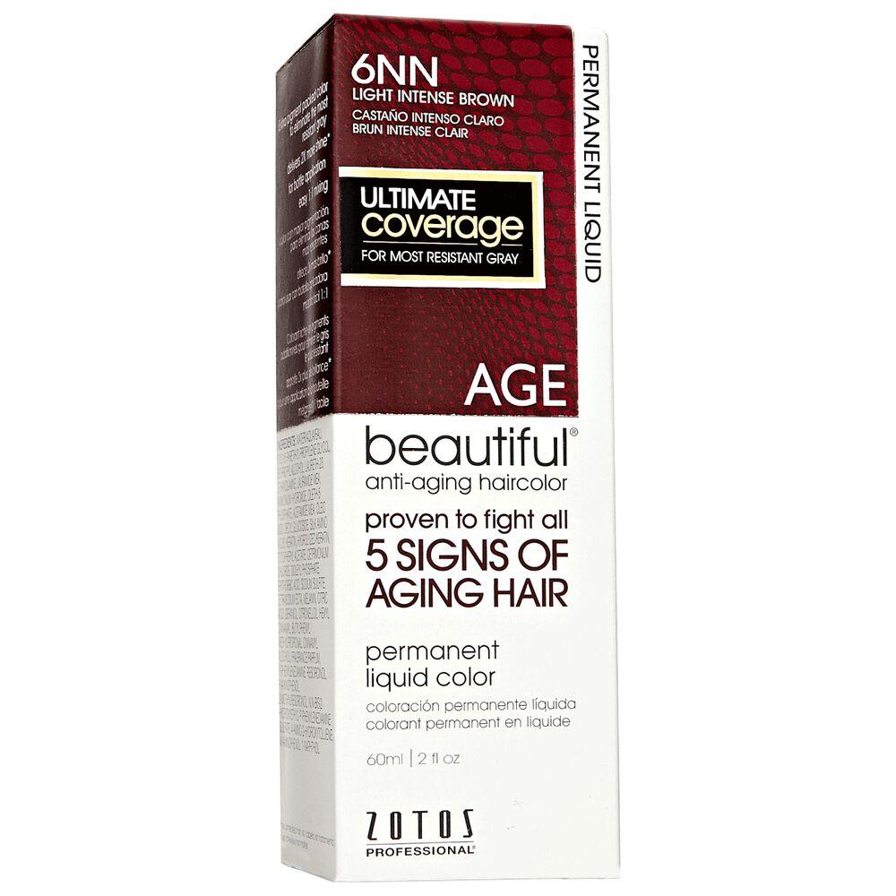 Agebeautiful Anti Aging Permanent Liquid Haircolor 6nn Light Intense