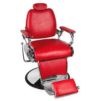 Jaguar Red Barber Chair