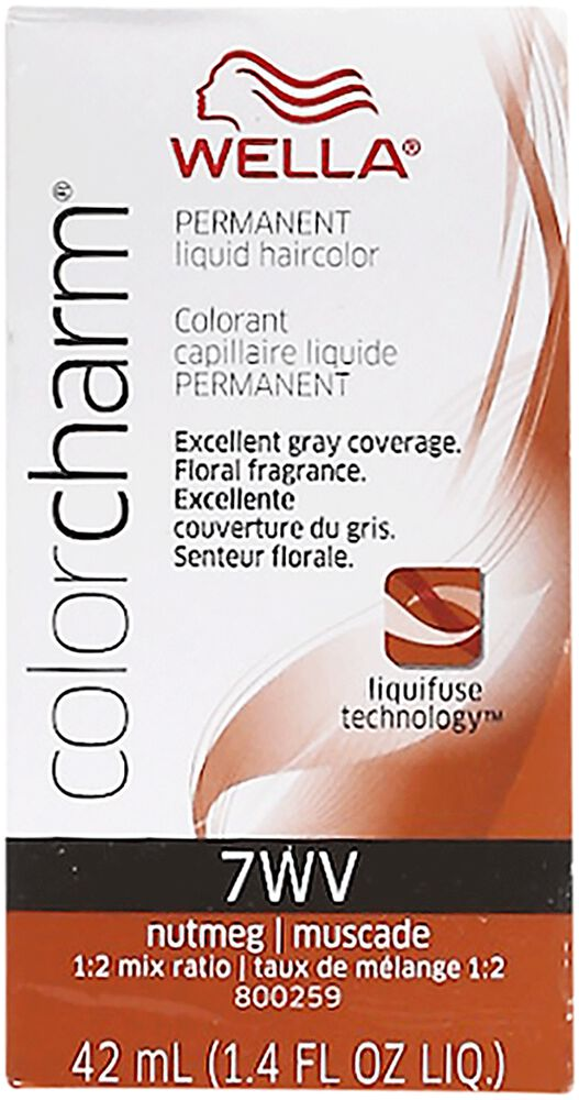 Nutmeg Color Charm Liquid Permanent Hair