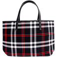 Holiday Tote Plaid