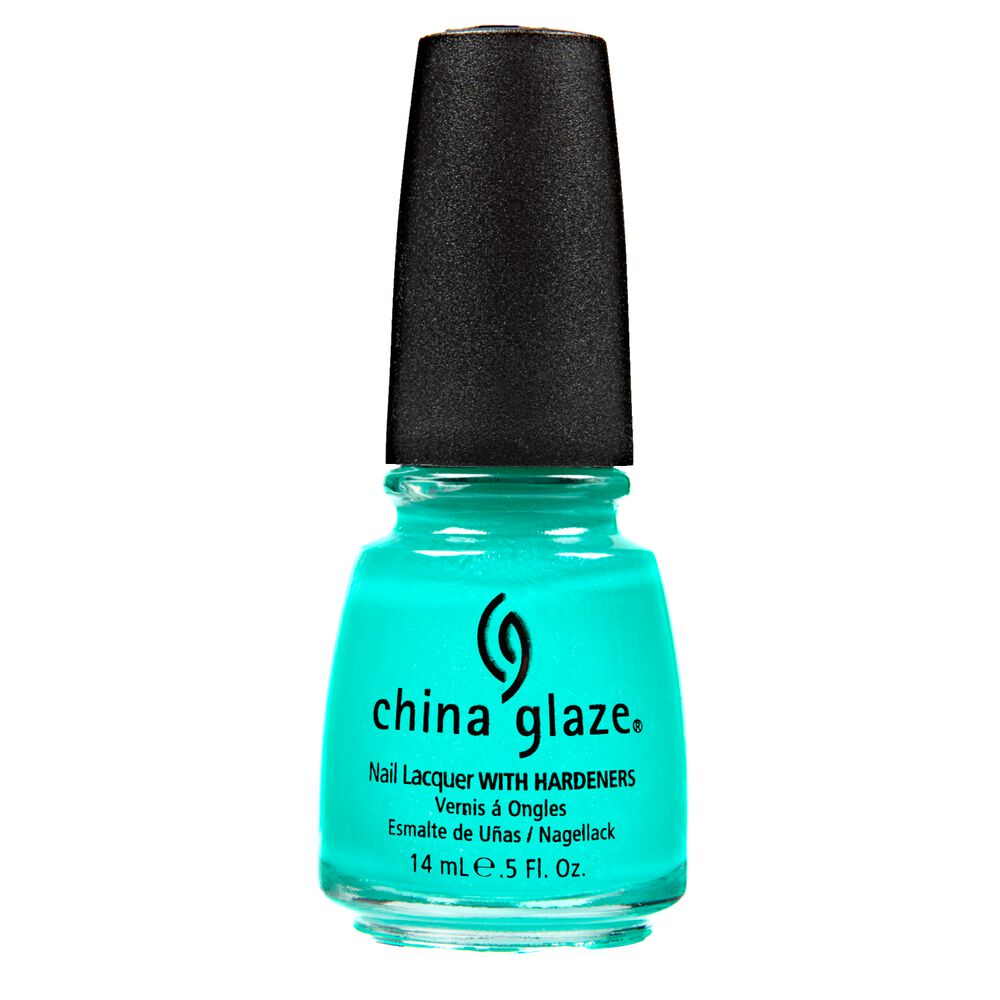 Neon Turned Up Turquoise Nail Lacquer