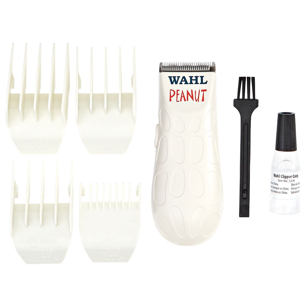 White Peanut Clipper And Trimmer By Wahl Hair Clippers Trimmers