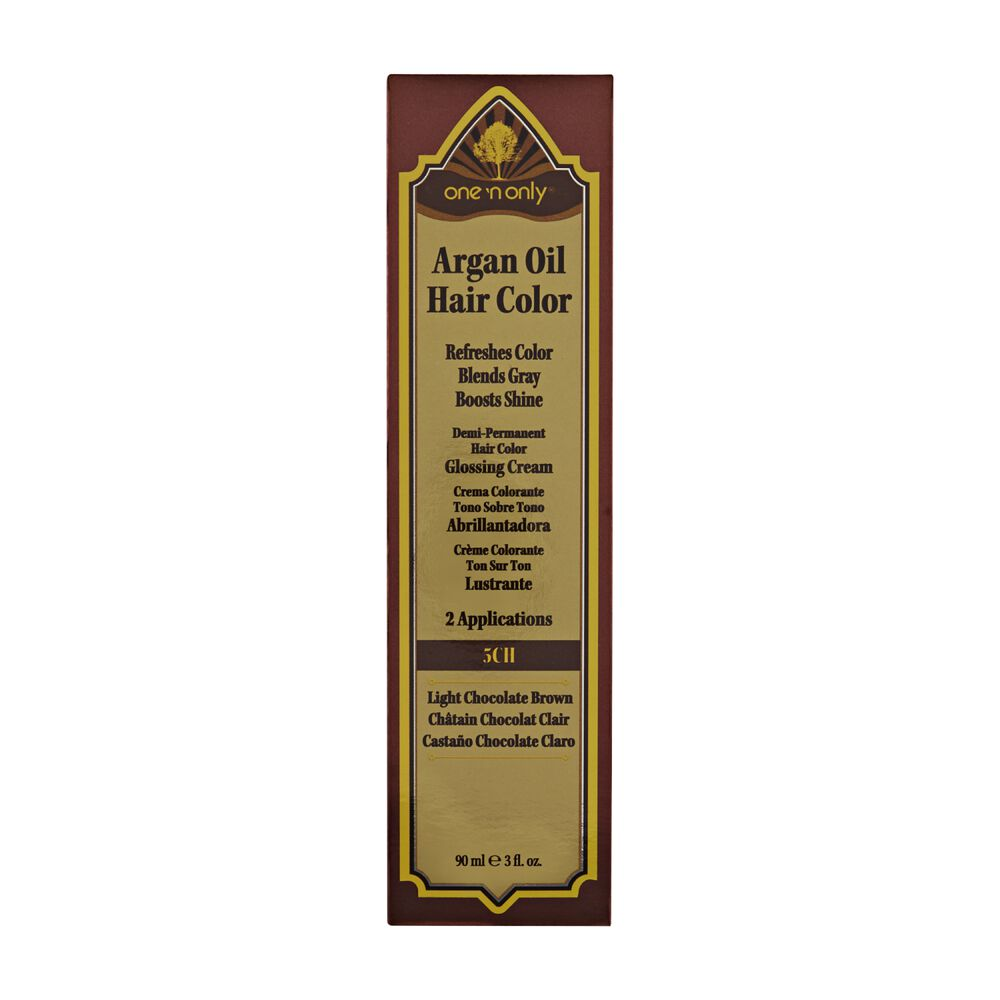 One N Only Argan Oil Hair Color Demi Permanent Glossing Cream