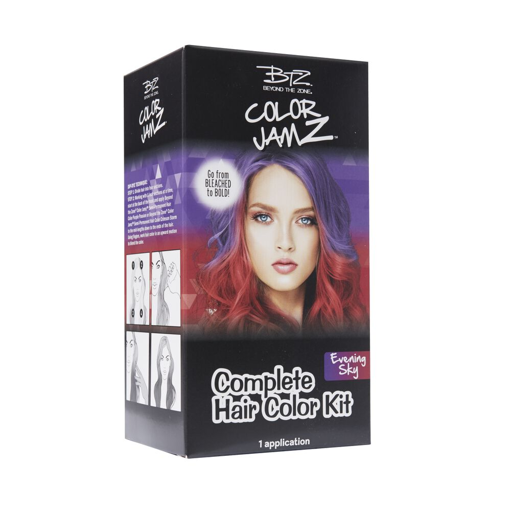 Evening Sky Complete Semi Permanent Hair Color Kit By Beyond The