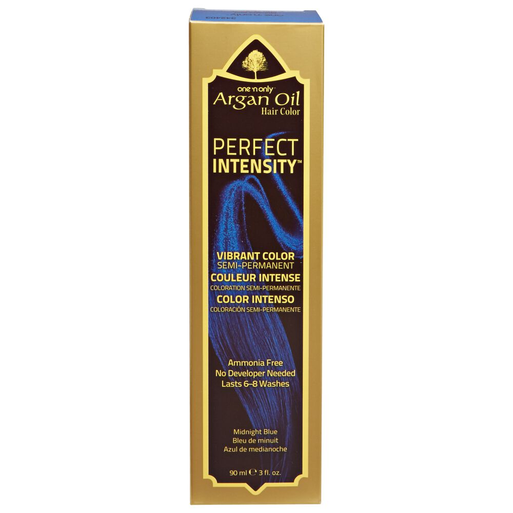 One N Only Argan Oil Hair Color Perfect Intensity Midnight Blue