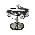 Kid's Police Car Hydraulic Styling Chair
