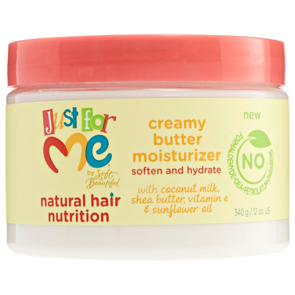 Just For Me Kids Natural Hair Nutrition Creamy Butter Moisturizer