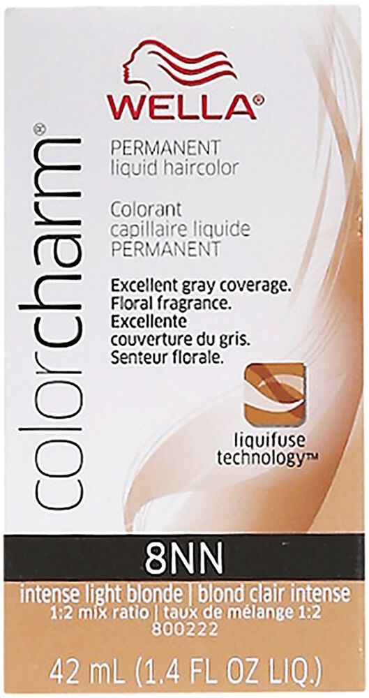 Wella Color Charm Suede Shade Liquid Permanent Hair Colors