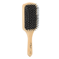 Wooden Cushion Paddle Brush