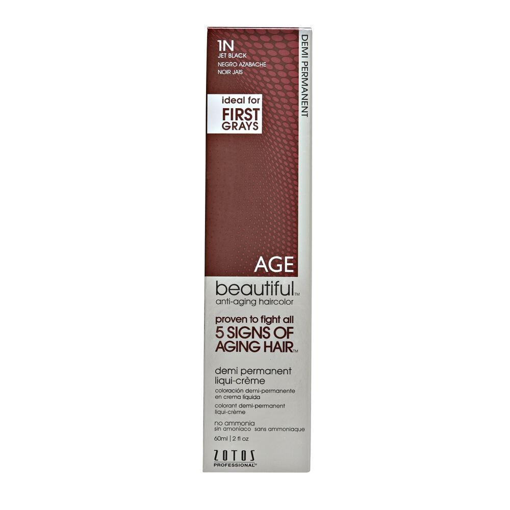 Agebeautiful Anti Aging Demi Permanent Liqui Creme Hair Color