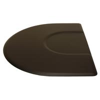 3050C 3 X 5 Black 1/2 Circle Mat