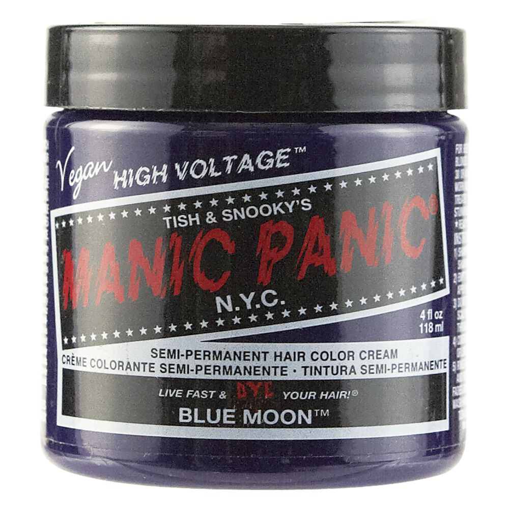 Blue Moon Manic Panic Semi Permanent Hair Color Sally Beauty