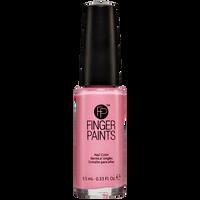 Decoupage Pink Striping Polish