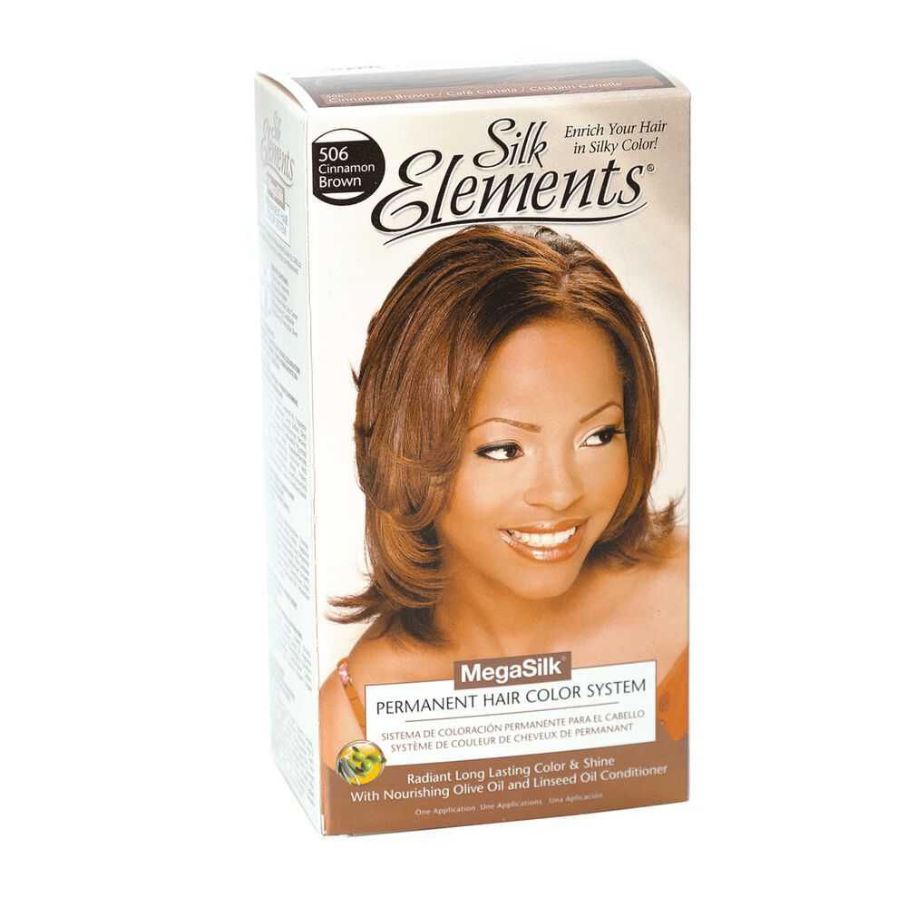 Silk Elements Cinnamon Brown Permanent Hair Color By Megasilk