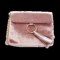 Velvet Pink Clutch