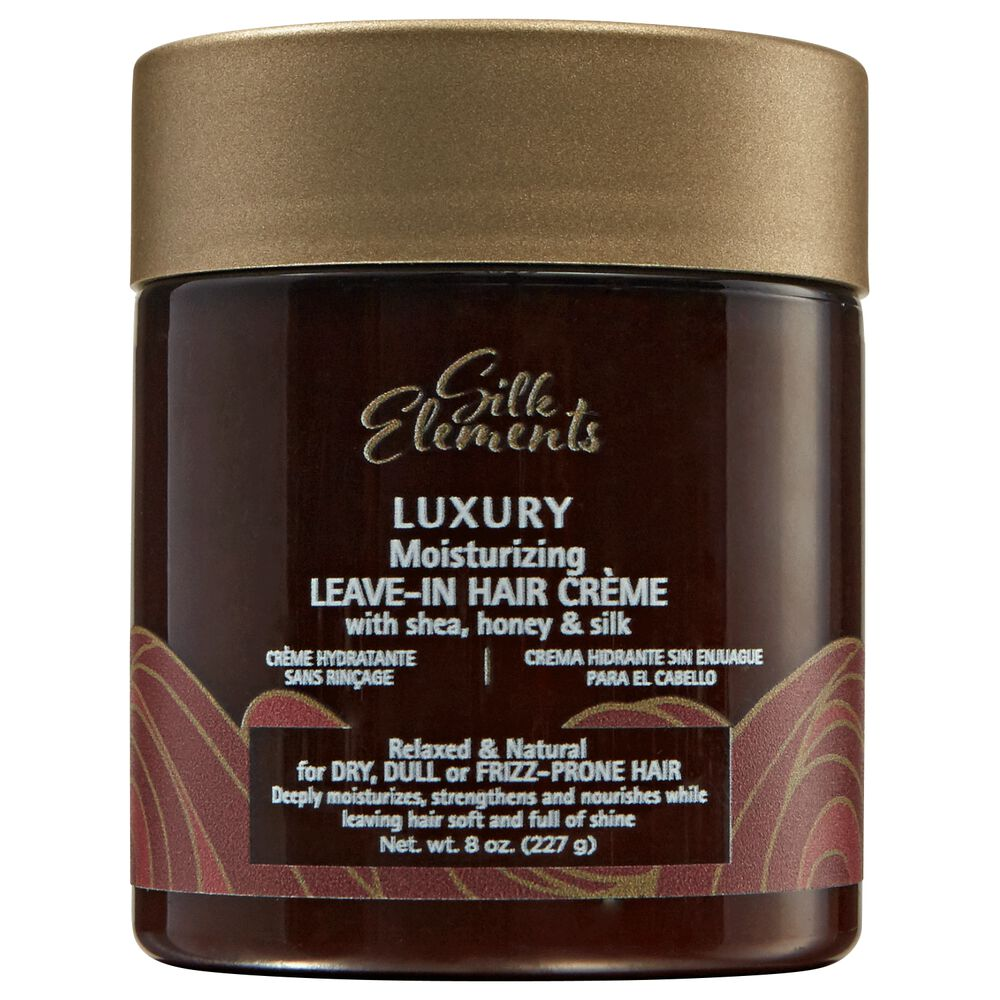 Silk Elements Luxury Moisturizing Leave In Hair Creme
