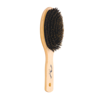 Oval Boar Bristle Cushion Paddle Brush