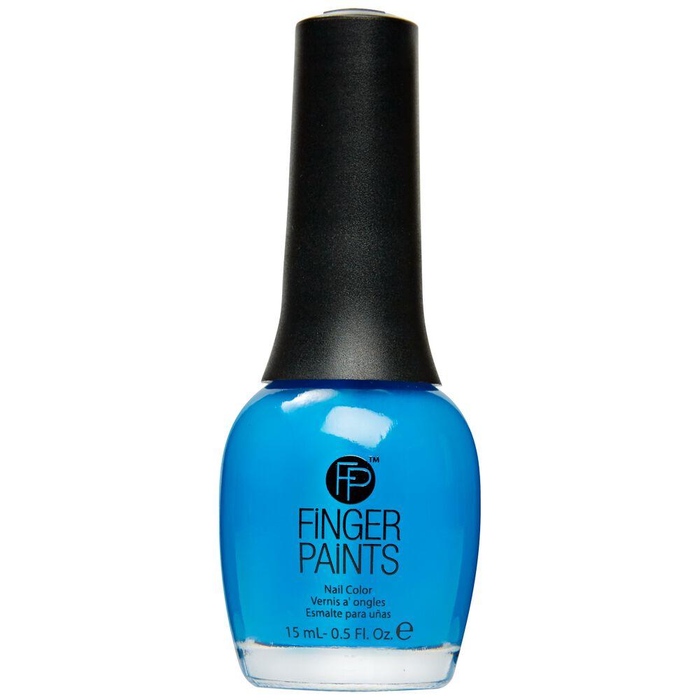 Inkblot Blue Nail Color