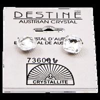 Destine Austrian Crystal Classic Square Cut Earrings
