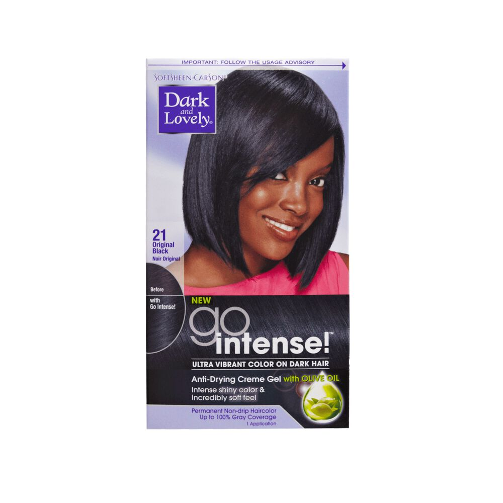 Go Intense Original Black Permanent Hair Color By Dark Lovely