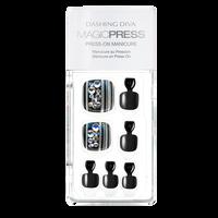 Press On Toe Nails Glam Rocks