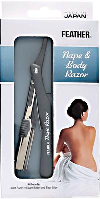 Feather Nape & Body Razor Kit
