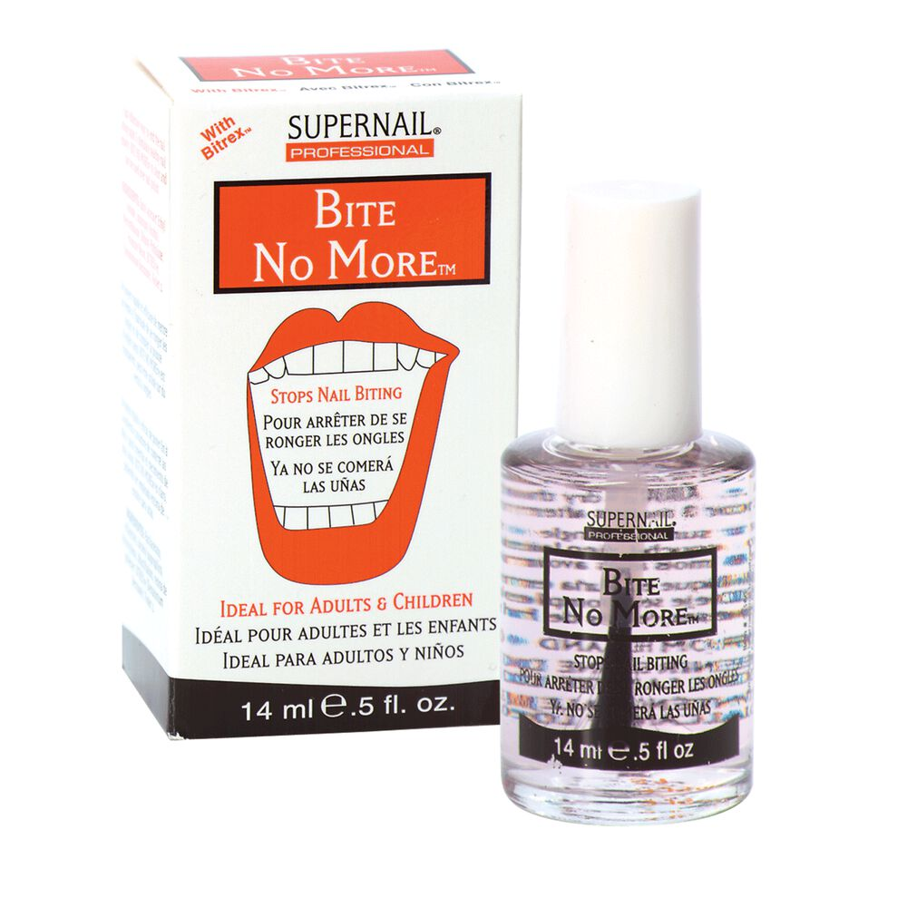Anti Nail Biting Polish: SuperNail Bite No More