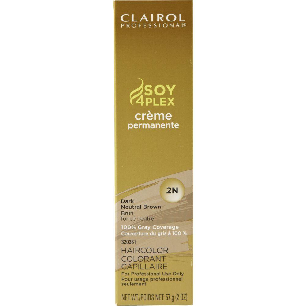 Clairol Professional 2n Dark Neutral Brown Premium Creme Hair Color