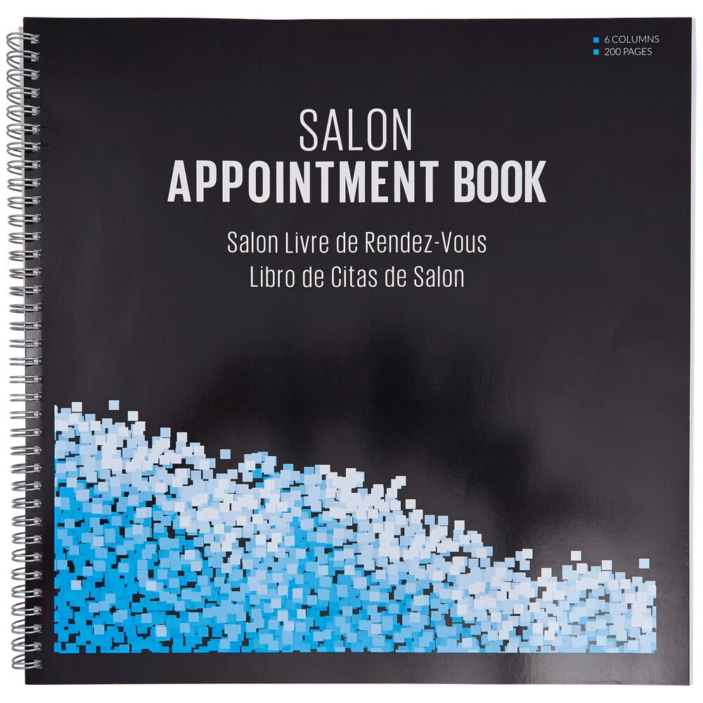 sally large 6 column salon appointment book